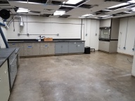 October 2020 - Cabinets have been installed...